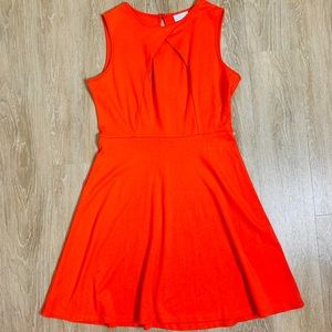 New York & Company Orange Dress